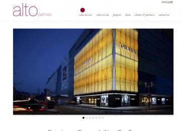 Alto Partners Corporate Web Site