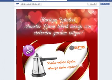 Kartopu Mother's Day Facebook Application