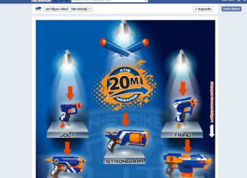 Nerf Elite Facebook Tab