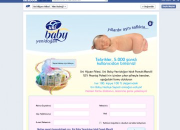Facebook Application for Uni Baby
